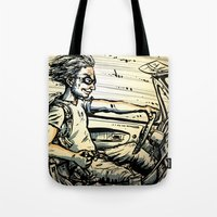 Run For The Border! Tote Bag