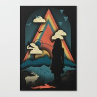 Canvas Print featuring New Worlds by The Child