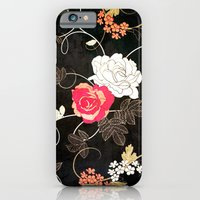 VINTAGE FLOWERS VII - for iphone iPhone 6 Slim Case