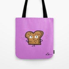 Cinnamon Raisin Toast Tote Bag