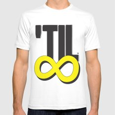 'til ∞ (infinity) Mens Fitted Tee White SMALL