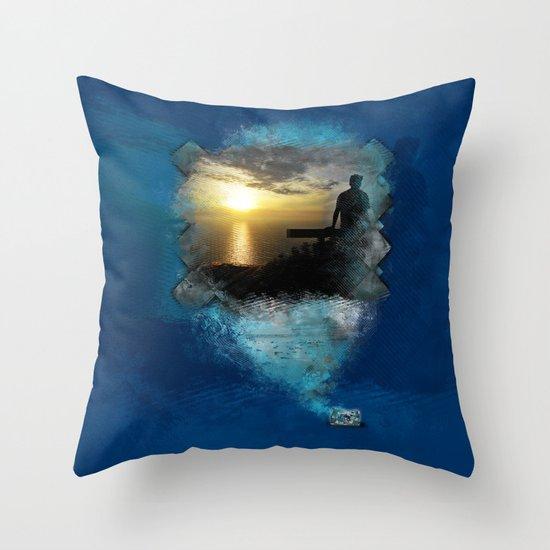 Divine Capture Throw Pillow