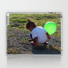 Balloon Girl II Laptop & iPad Skin