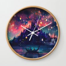 The Lights Wall Clock