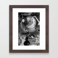 The Garden of Earthly Delights  Framed Art Print