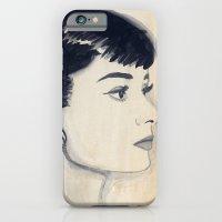 Audrey (watercolor) iPhone 6 Slim Case