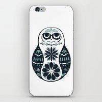 Flower Owl Matryoshka - … iPhone & iPod Skin