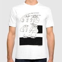 void Mens Fitted Tee White SMALL