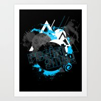 The Shape Of Things To C… Art Print