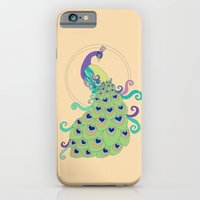 iPhone & iPod Case featuring Peacock by Lauren dunn