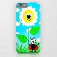 Ladybug For Children iPhone 6 Slim Case