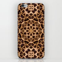 Leopard Fur Abstract Kaleidoscope Print iPhone & iPod Skin