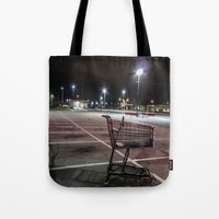 Late Night Shopping Tote Bag