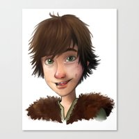 A Little Hiccup Goes A L… Canvas Print