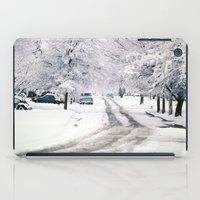 Winter on Beechwood Lane iPad Case