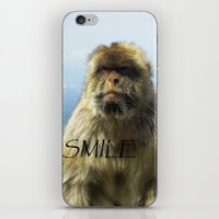 Monkey Of Gibraltar iPhone & iPod Skin