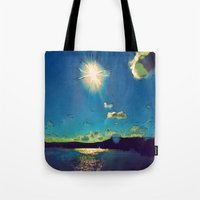 Sunshine at the Black Sea Tote Bag