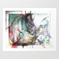Bird Version II Art Print