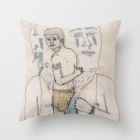 Toalla Throw Pillow