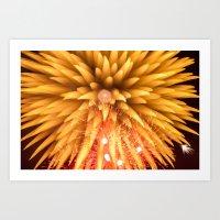 Fireworks - Philippines 8 Art Print