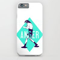 iPhone & iPod Case featuring Anger by victor calahan