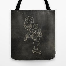 Teen Titans: Cyborg Tote Bag