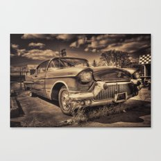 The old Cadillac  Canvas Print