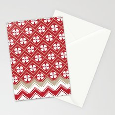 Glove in Red Stationery Cards