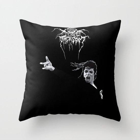 MIKETHRONE Throw Pillow