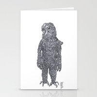 Slow Man Stationery Cards