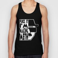 Heisenberg  |  Breaking … Unisex Tank Top