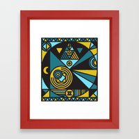 Witchcraft Alchemist Framed Art Print