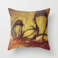 The Invited They Come  Throw Pillow