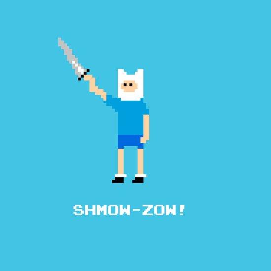 Shmow-Zow! Art Print