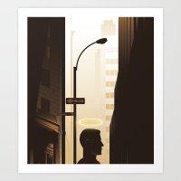 Benevolent Bankers Art Print