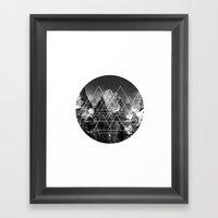 LF Logo Framed Art Print