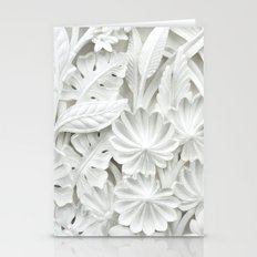 White&Classy Stationery Cards