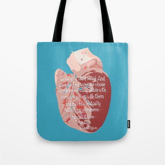Weird Love Tote Bag
