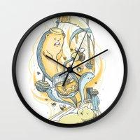 Honeysiiickle Wall Clock