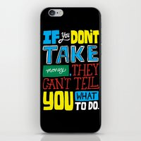 The Key To The Whole Thi… iPhone & iPod Skin