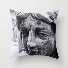Angelic face Throw Pillow