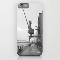 iPhone & iPod Case featuring The Crane by Frederic Streminski