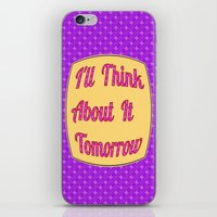 I'll Think About It Tomo… iPhone & iPod Skin