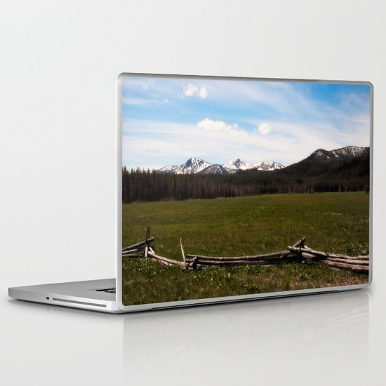 mountains. Laptop & iPad Skin