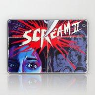 Scream 2 Movie Poster Laptop & iPad Skin