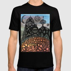 King and Queen Black SMALL Mens Fitted Tee