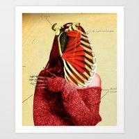 Bone Babsi Art Print