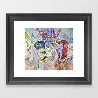 Fraggle Cock Framed Art Print