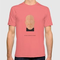 Norman Foster Mens Fitted Tee Pomegranate SMALL