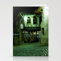 Stationery Card featuring cafe Evropa by RAIKO IVAN雷虎
